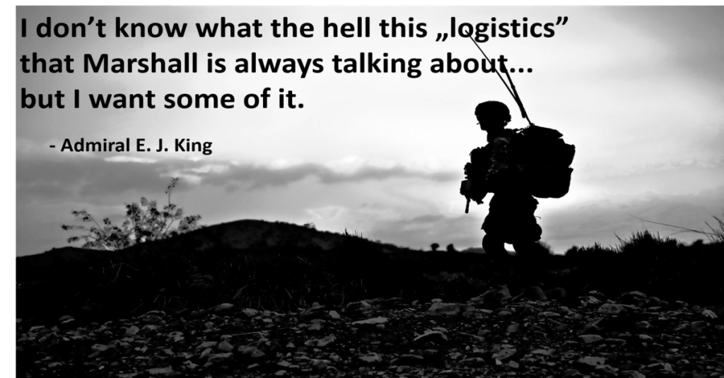 logistyka definicja generał Marshall
