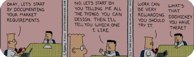 Dilbert wymagania biznesowe
